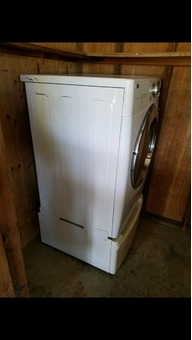 Gas LG dryer